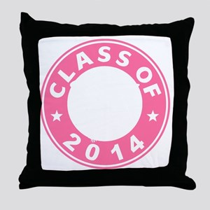 Class Of 2014 Gymnastic Throw Pillow