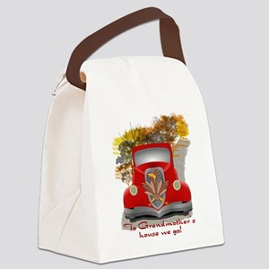 Funny Holiday Celebrations Canvas Lunch Bag