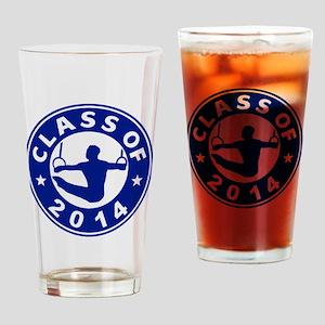Class Of 2014 Gymnastics Drinking Glass