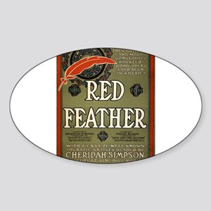 Red feather - Ackermann-Quigley Litho - 1906 Stick