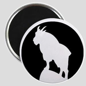 Great Northern Goat Black Magnet