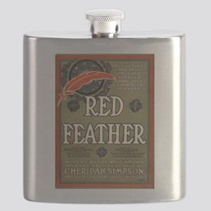 Red feather - Ackermann-Quigley Litho - 1906 Flask