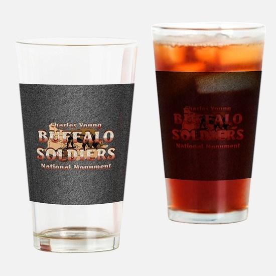 buffsoldiersnmsq Drinking Glass