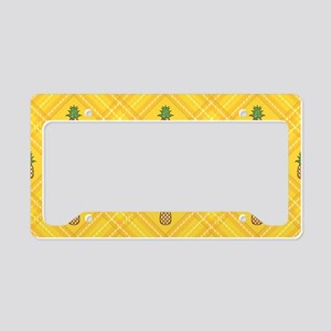 Pineapple License Plate Holder