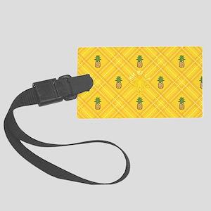 Pineapple Large Luggage Tag