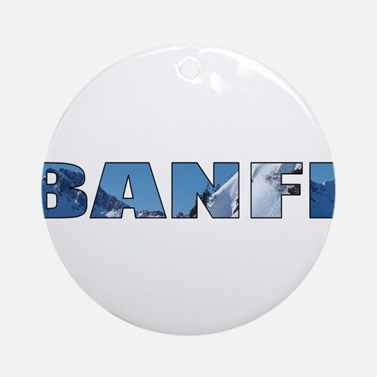 Banff Ornament (Round)