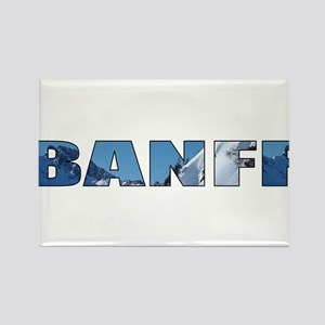 Banff Rectangle Magnet