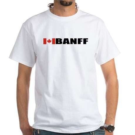 Banff White T-Shirt