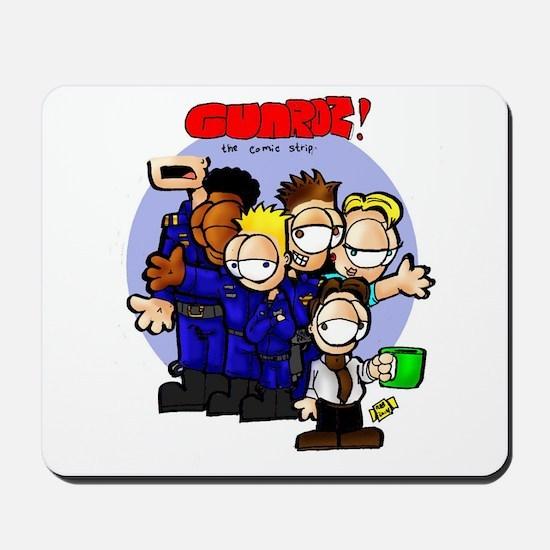 GUARDZ! the comic Mousepad