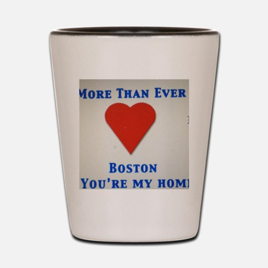 Support our wonderful town, Boston Shot Glass