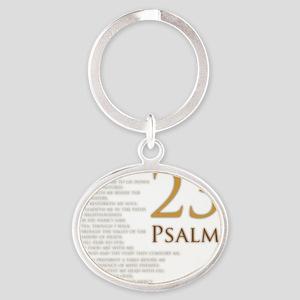 PSA 23 Oval Keychain