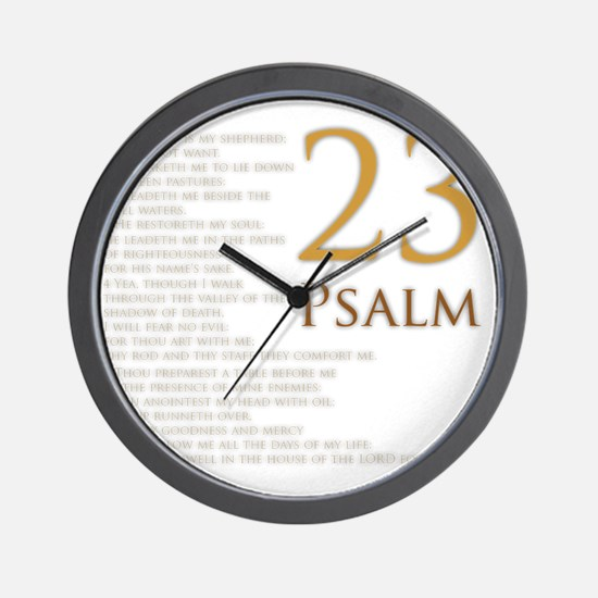 PSA 23 Wall Clock