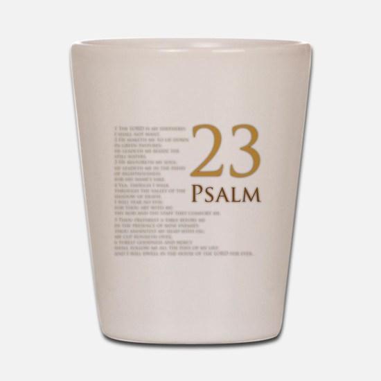 PSA 23 Shot Glass