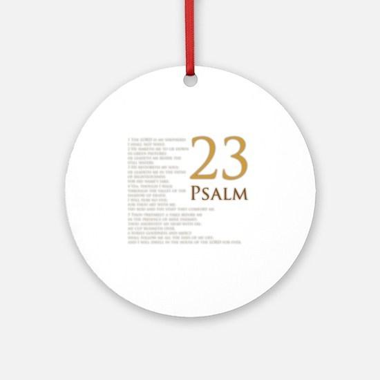 PSA 23 Round Ornament