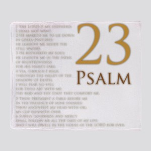 PSA 23 Throw Blanket