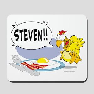 Steven the Egg Mousepad