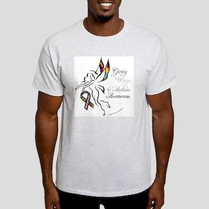 AutismfairyButton3 Light T-Shirt