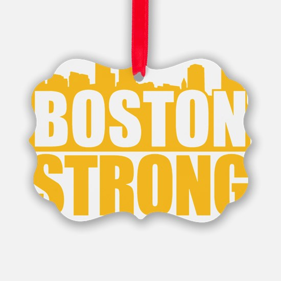 Boston Strong Gold Ornament