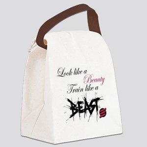 Beauty and the BEAST! Canvas Lunch Bag
