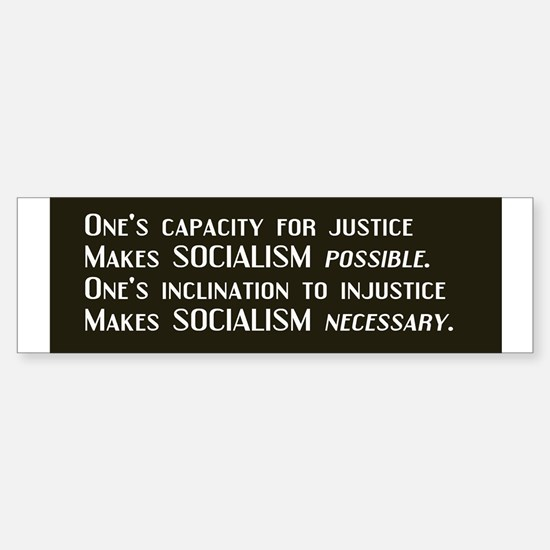 Socialism Bumper Bumper Bumper Sticker