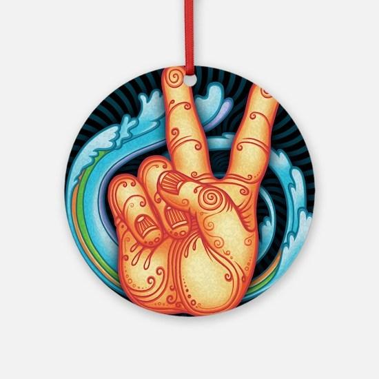 peacehand-pmax-PLLO Round Ornament