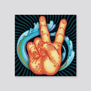 "peacehand-pmax-PLLO Square Sticker 3"" x 3"""