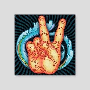 """peacehand-pmax-PLLO Square Sticker 3"""" x 3"""""""