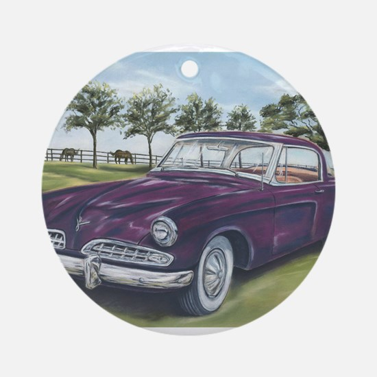1954 Studebaker Ornament (Round)