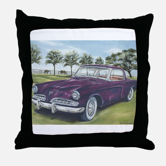 1954 Studebaker Throw Pillow