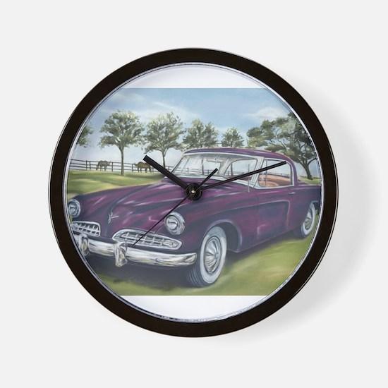 1954 Studebaker Wall Clock