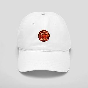 Maltese Cross Red Flame Cap