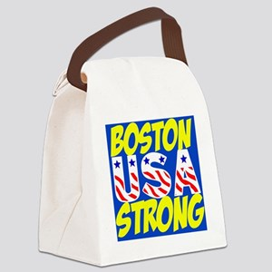 Boston Strong USA Canvas Lunch Bag