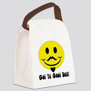 Shakespear Happy Face Canvas Lunch Bag