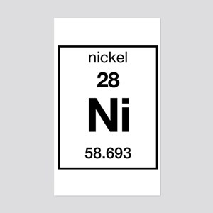 Periodic table nickel stickers cafepress nickel rectangle sticker urtaz Gallery