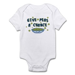 Give Peas A Chance Infant Bodysuit