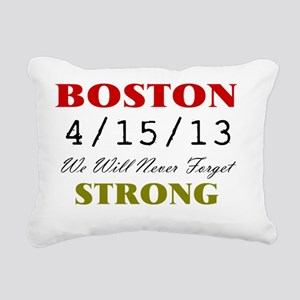 BOSTON STRONG 2 Rectangular Canvas Pillow