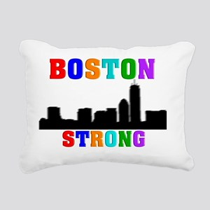 BOSTON STRONG 1 Rectangular Canvas Pillow