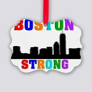 BOSTON STRONG 1 Picture Ornament
