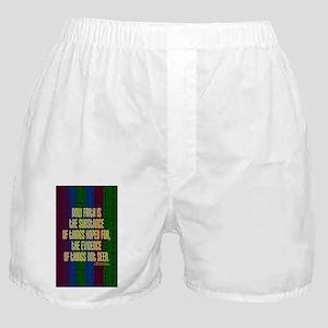 Hebrews 11 1 Faith Boxer Shorts