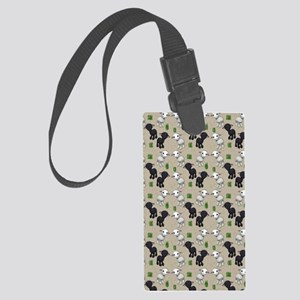 Lovable Lambs Large Luggage Tag