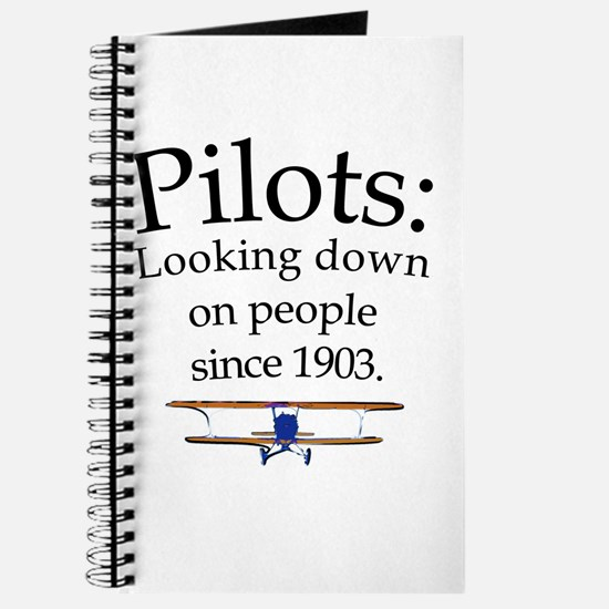 Pilots: Looking down on peopl Journal