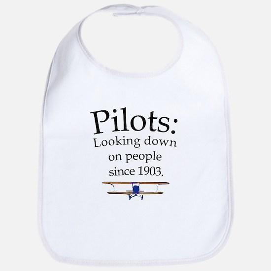 Pilots: Looking down on peopl Bib
