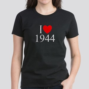 """I Love 1944"" Women's Dark T-Shirt"