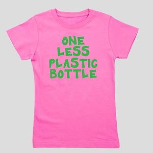 One Less Plastic Bottle Girl's Tee
