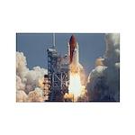Space Shuttle Atlantis Rectangle Magnet (100 pack)