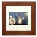 Space Shuttle Atlantis Framed Tile
