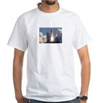 Space Shuttle Atlantis EARTH White T-Shirt