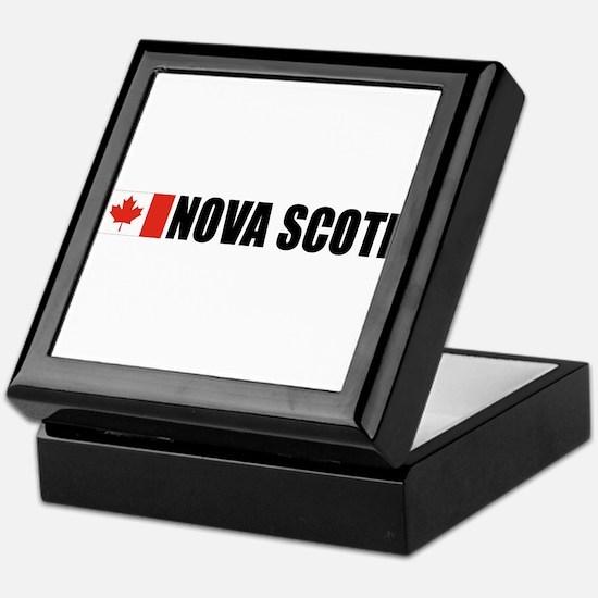 Nova Scotia Keepsake Box