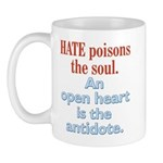 Hate Poisons the Soul Mug
