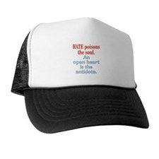 Hate Poisons the Soul Trucker Hat